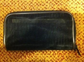 nylon mesh travel wallet