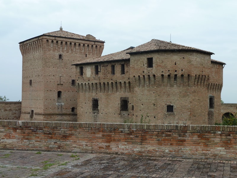 La Rocca Malatestiana, an ancient fortress in Cesena