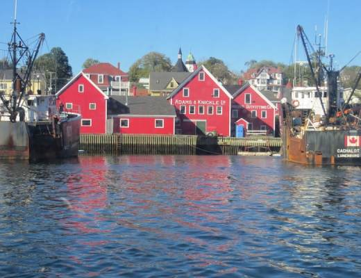 The picturesque port of Lunenburg is a UNESCO world heritage site.