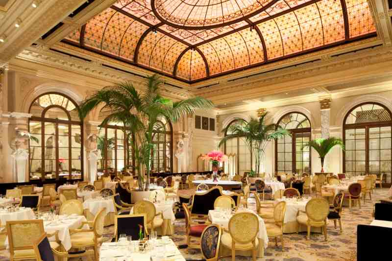 Afternoon Tea at the Palm Court at The Plaza in New York