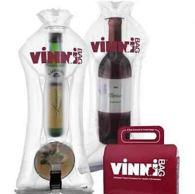 The vinnibag wine carrier