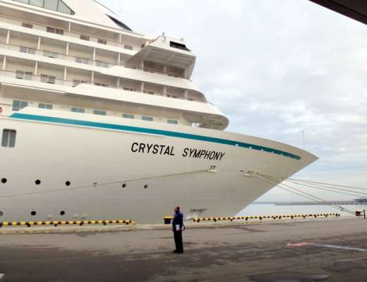 Crystal Symphony at Port