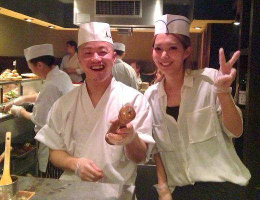 You'll feel welcome at Yakitori Tori Shin.