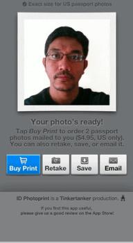 Screen Shot of The Smart Phone Screen