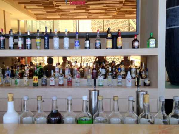 One of the Many Bars with Complimentary Wines & Liquors
