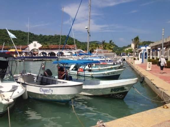 Marina at nearby Santa Cruz Bay
