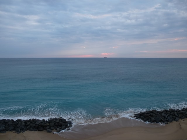 Expansive ocean views