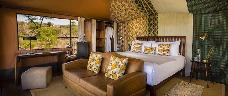 perfect safari camp for the over-50 traveler: Mahali Mzuri