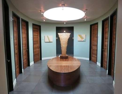 Circular Restroom Suite