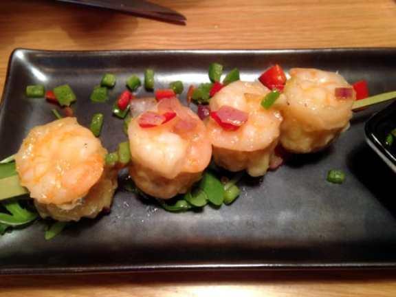 Dumplings on Skewers