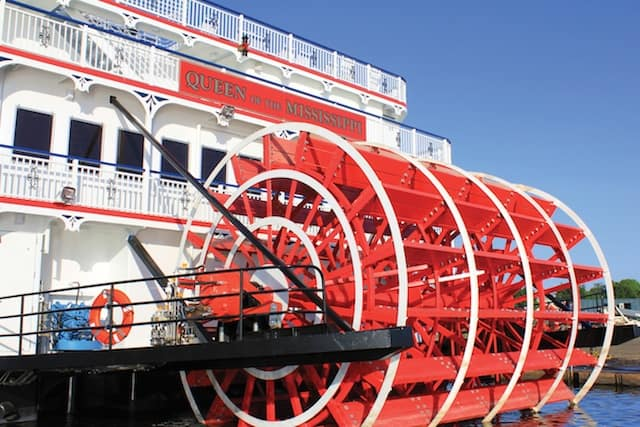 Queen of the Mississippi Paddlewheel