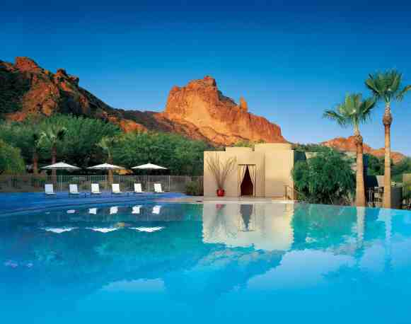 Infinity Pool at Sanctuary (Photo credit: Sanctuary Camelback Mountain Resort and Spa)