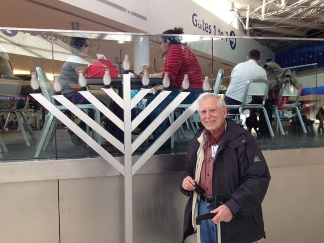 Jerry at Terminal 5 JFK
