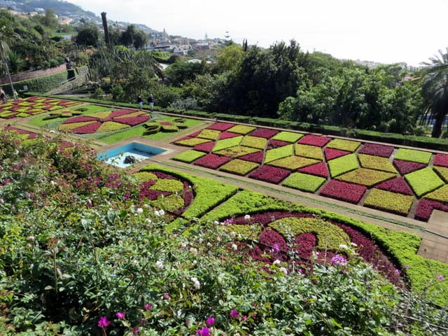 Madeira Gardens in Funchal, Portugal