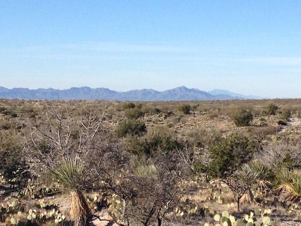 The desert (Photo credit: Sheryl Kraft)
