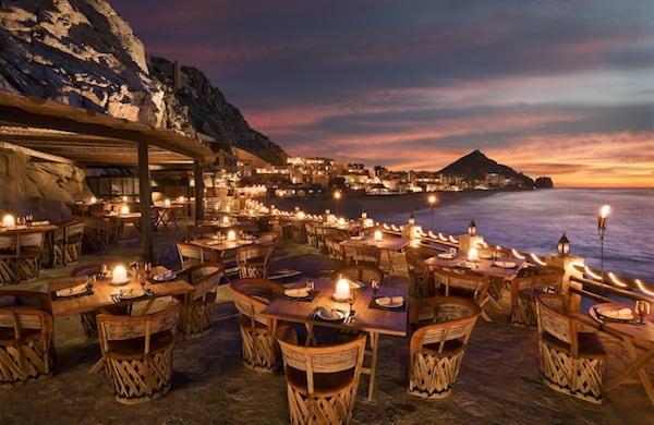 Terrace at El Farallon (Credit: Capella Pedregal)