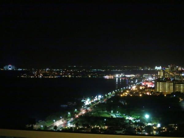 Night lights of Cancun