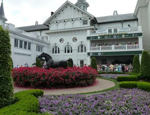 The gracious Churchill Downs