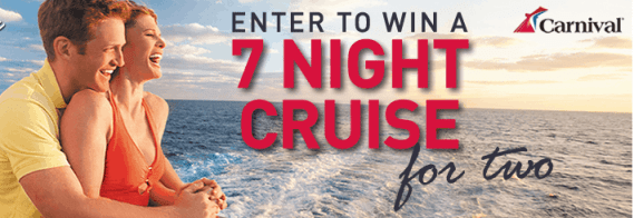 7-night cruise for two