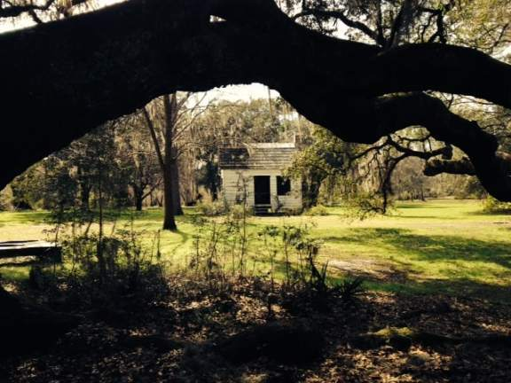 Slave quarters on the grounds
