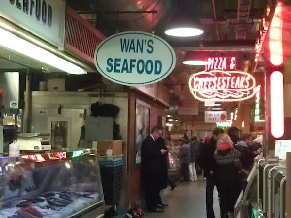 Reading Terminal Market (Photo credit: Suzanne Fluhr)