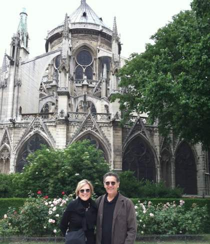 Lynne and Tim Martin in Paris