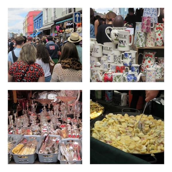 London's Portobello Market (Photo credit: Donna Janke)