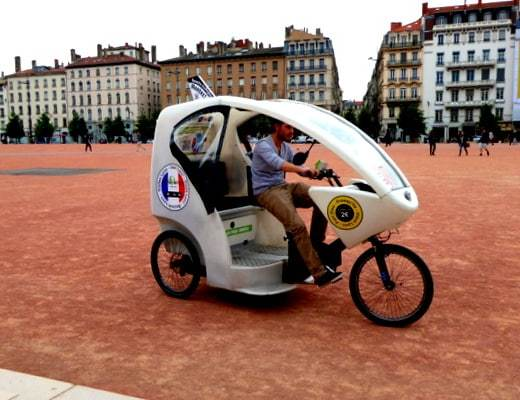 Our chariot: An electric taxi tricycle