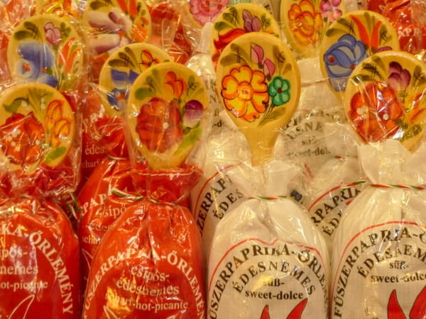 Gift packages of paprika