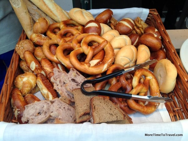Beer and pretzels: You know you're in Germany