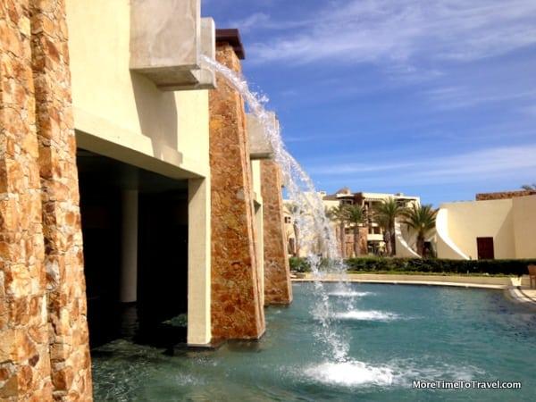 Outdoor spa area at Auriga Spa at Capella Pedregal