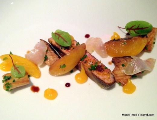Foie gras plate