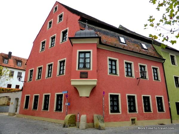 Home of Pope Benedict XVI's brother in Regensburg
