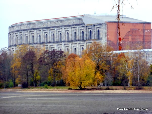 Congress Hall beside Nazi Party Rally Grounds in Nuremberg
