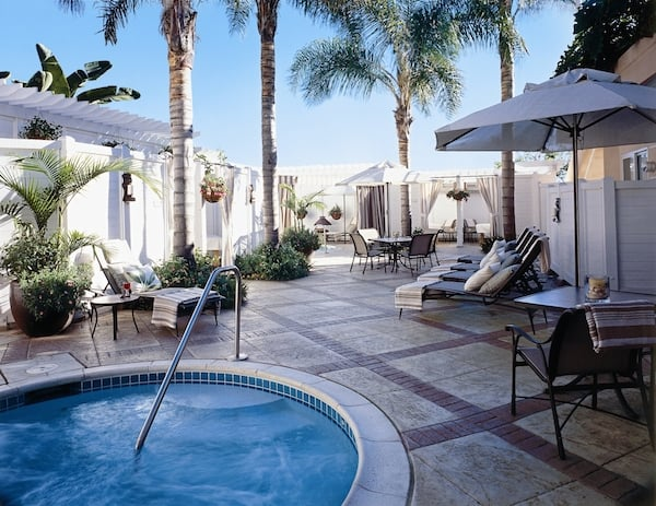 Sea Spa Patio at Lowes Coronado Bay Resort