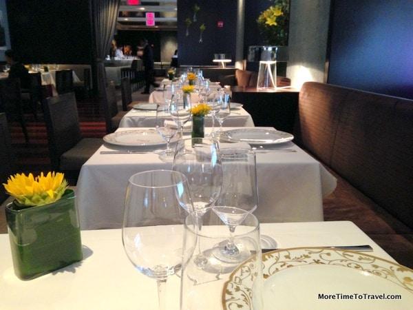 Tables at Ai Fiori