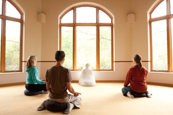 Meditation Class at Rancho La Puerta