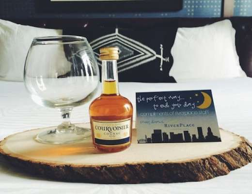 Cognac Nightcap (photo credit: RiverPlace Hotel)