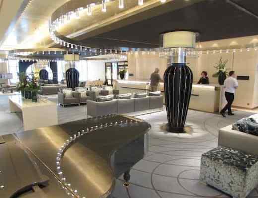 Elegant lobby on Europa 2