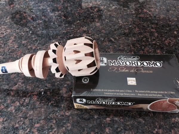 Mi Molinillo from Huatulco to mix hot chocolate