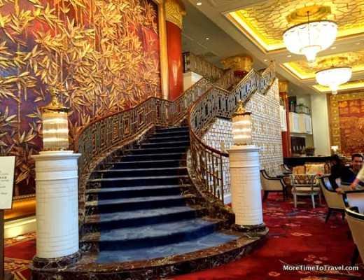 Lobby China World Hotel