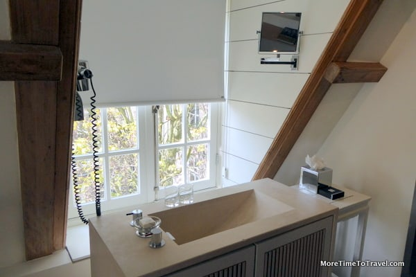 Our bathroom sink