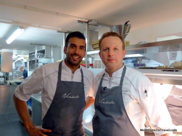 Chef de Cuisine Jurgen van der Zalm and Executive Chef  Dennis Kulpers