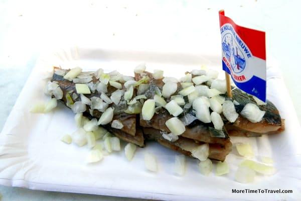 Street food in Nijmegen (herring)