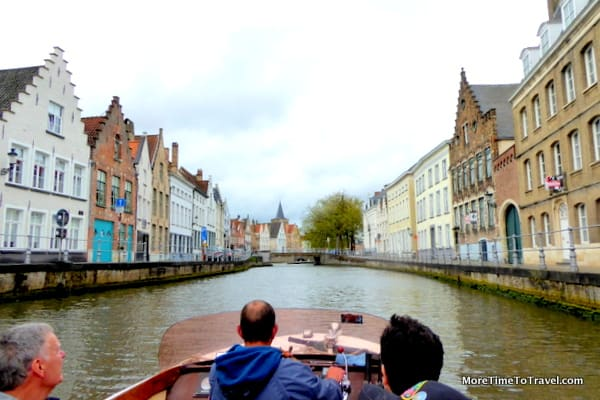 One of the canals in Bruges
