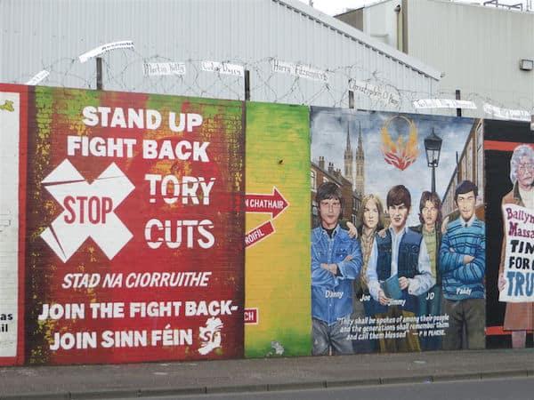 Falls Road Belfast Mural