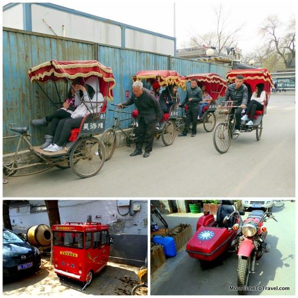 More contemporary transport