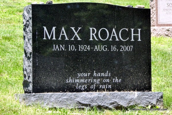 Monument to Max Roach (1924-2007)