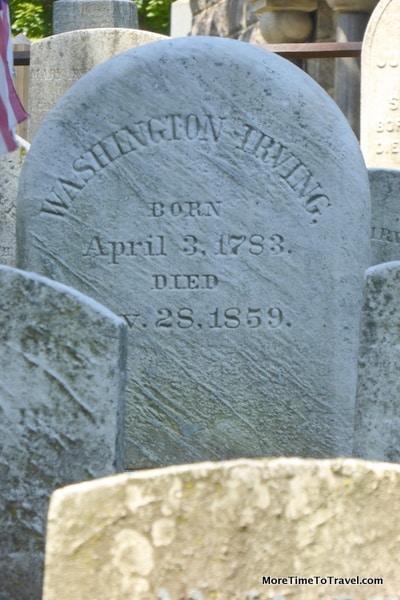 Washington Irving's Tombstone
