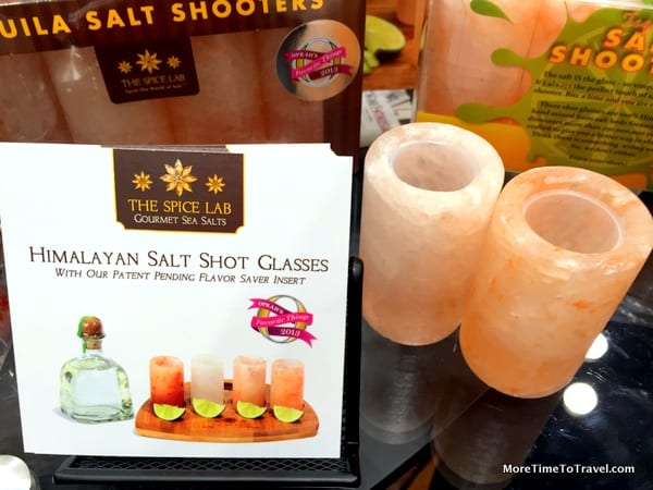 Tequila Salt Shooters - Just add tequila and drink up!